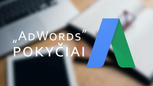 Adwords paprastina konversijų skaičiavimą