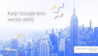 Kaip Google pakeis Jūsų verslo ateitį