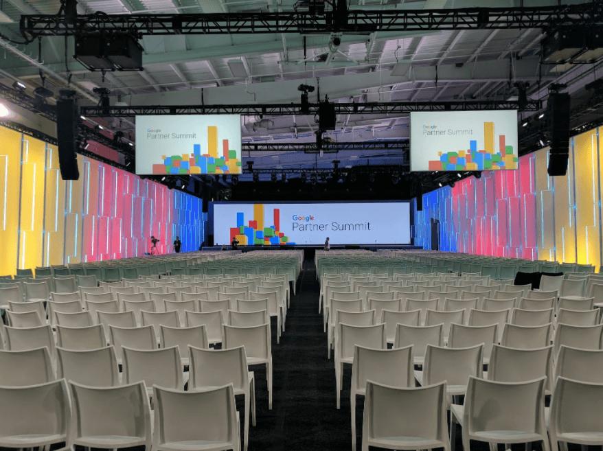 google partner summit new york 2017 hall